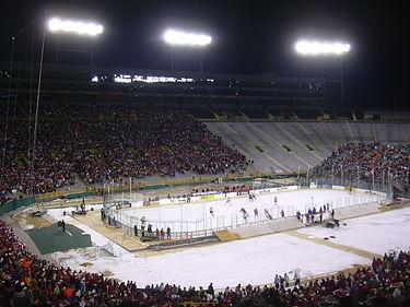 File:Lambeau Field (Wisconsin Badgers vs Ohio State Buckeyes, February 2006).jpg