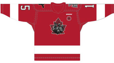 Quebec Remparts Memorial Cup 2015 jersey