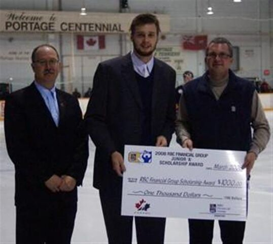 File:Gavin McHale with the RBC Financial Group Junior A Scholarship.jpg