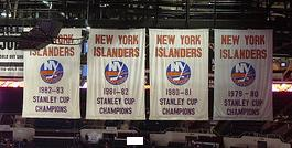 File:NYI Stanley Cup banners.jpg