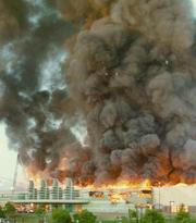 Pan-Pacific Auditorium fire