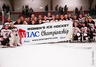 2017 WIAC Women's champions Wisconsin-River Falls Falcons