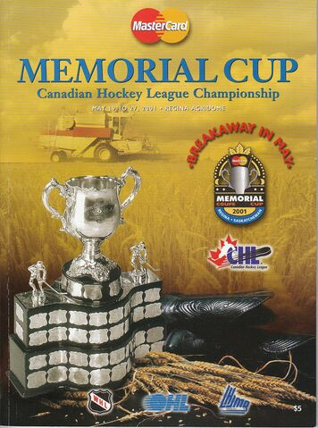 File:PROGRAM-2001 - PROGRAM - MEMORIAL CUP PROGRAM COVER.jpg
