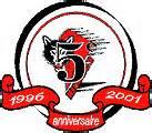Rouyn Noranda Huskies 5th anniversary logo