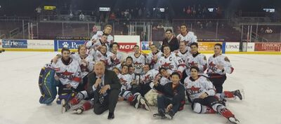 2017 NCPHL champs Rochester Rebels