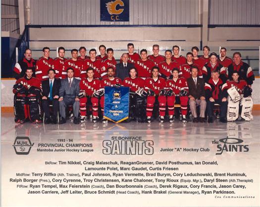 St. Boniface Saints 1993-94 web