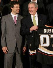 Stanley Cup Ducks and Bush Scott Neids crop