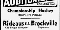 1932-33 Ottawa District Senior Playoffs