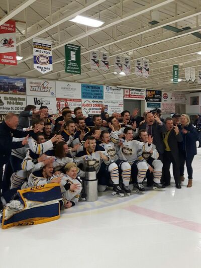 2017 CCHL champs Carleton Place Canadians