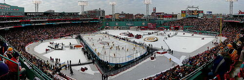 Panorama of 2010 NHL Winter Classic