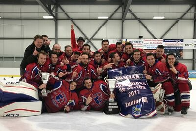 2017 MJAAHL champs Richelieu Eclaireurs