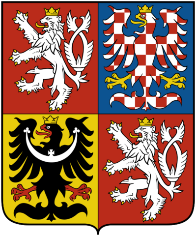 File:Coat of arms of the Czech Republic.png