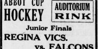 1920-21 Western Canada Memorial Cup Playoffs