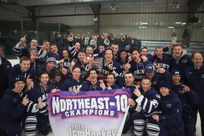 St. Anselm 2015 NE-10 champs