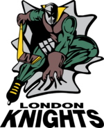 London Knights logo (1994–2002)