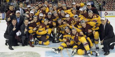 2015 Big Ten tournament champions Minnesota