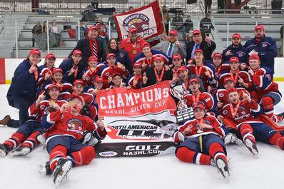 2017 NA3HL champs Granite City Lumberjacks