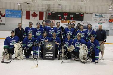 South East Prairie Thunder 2012 Manitoba Senior AAA champions