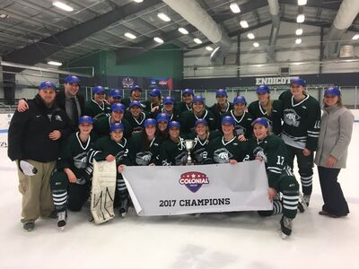 2017 CHC Women's champs Morrisville Mustangs