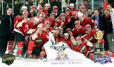 2015 NAHL champions Minnesota Wilderness