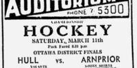 1938-39 Ottawa District Senior Playoffs