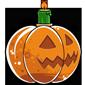 Halloween Snow Jar Candle