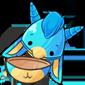 Empty Blue Makoat Jakrit Egg