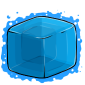 Blue Ice Cube Before 2015 revamp