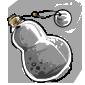 Grey Snow Jar