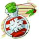 Christmas Snow Jar