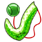 Green Sock and Ball Before 2016 revamp