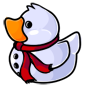 Red Scarf Snowman Ducky