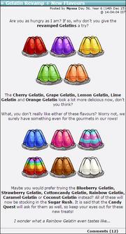 2015-12-14 Gelatin Revamp + New Flavours