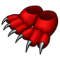 Traptur Claw Slippers