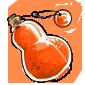 Orange Snow Jar