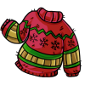 Itchy Christmas Sweater