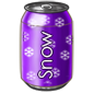 Grape Snow Soda