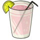 Cup of Pink Lemonade Before 2014 revamp