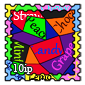 Candy Wrapper Stamp