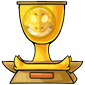 Team Yellow Sharshel Toy Trophy