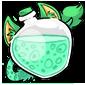 Bluegreen Ridix Morphing Potion