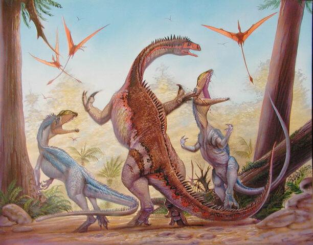 File:Plateosaurus-vs-Liliensternus.jpg