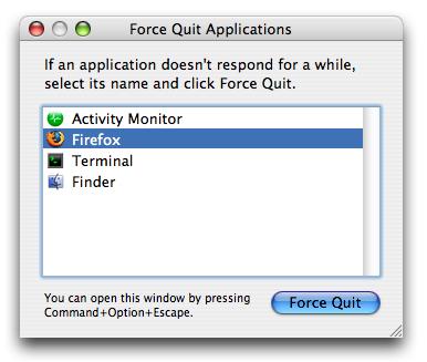 Gambar 01: Kotak dialog Force Quit