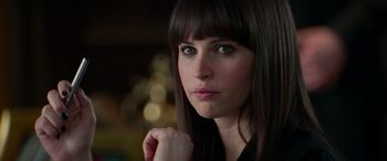 Felicity Jones as Felicia Hardy in The Amazing Spider-Man 2 Screenshot 0001