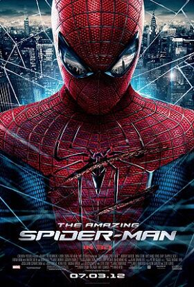 The Amazing Spider-Man (2012) Theatrical Poster
