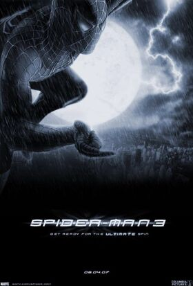 Spider-man 3 (2007) Theatrical Poster