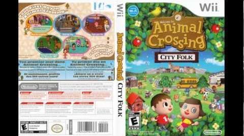 Animal Crossing City Folk Soundtrack - Main Menu Theme -HD-