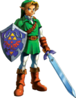 305px-Link Artwork 1 (Ocarina of Time)
