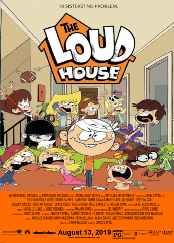 image   the loud house movie wb paramount nickelodeon