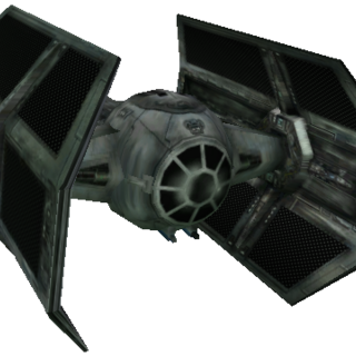 TIE Advanced fighters
